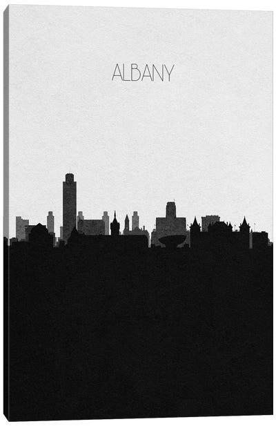 Albany, New York City Skyline Canvas Art Print