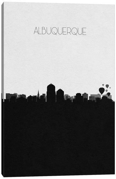 Albuquerque, New Mexico City Skyline Canvas Art Print