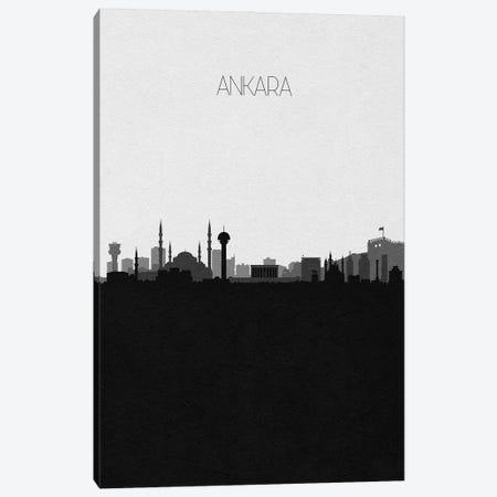 Ankara, Turkey City Skyline Canvas Print #ADA281} by Ayse Deniz Akerman Art Print