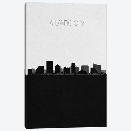 Atlantic City, New Jersey City Skyline Canvas Print #ADA282} by Ayse Deniz Akerman Art Print