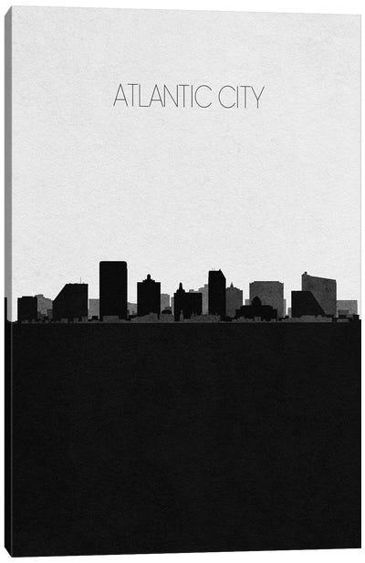 Atlantic City, New Jersey City Skyline Canvas Art Print