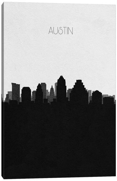 Austin, Texas City Skyline Canvas Art Print