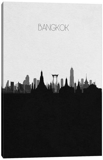 Bangkok, Thailand City Skyline Canvas Art Print