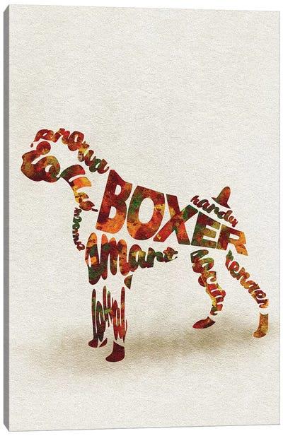 German Boxer Canvas Art Print
