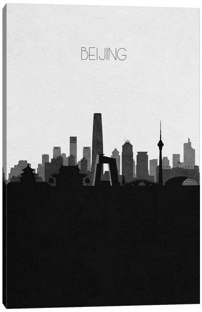 Beijing, China City Skyline Canvas Art Print