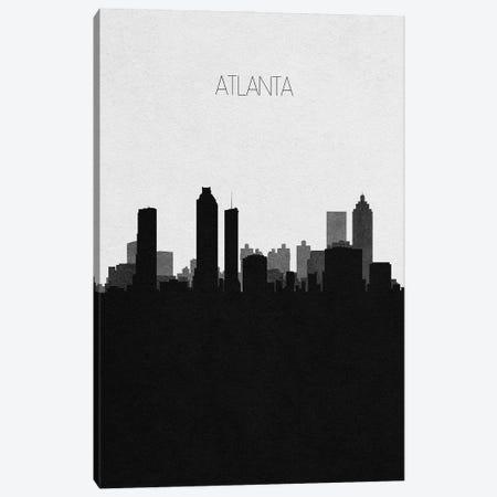 Atlanta, Georgia City Skyline Canvas Print #ADA291} by Ayse Deniz Akerman Canvas Wall Art