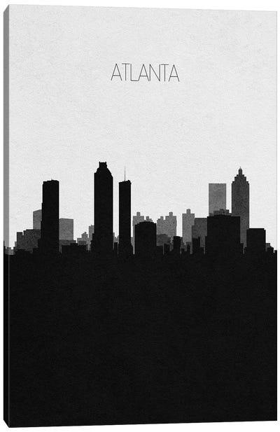 Atlanta, Georgia City Skyline Canvas Art Print