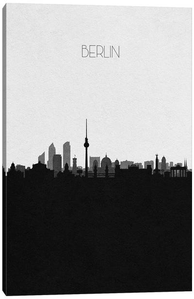 Berlin, Germany City Skyline Canvas Art Print