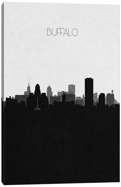 Buffalo, New York City Skyline Canvas Art Print