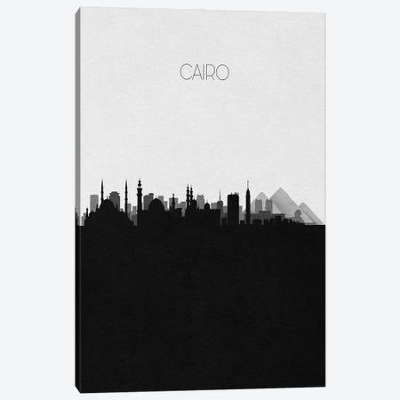 Cairo, Egypt City Skyline 3-Piece Canvas #ADA298} by Ayse Deniz Akerman Canvas Artwork