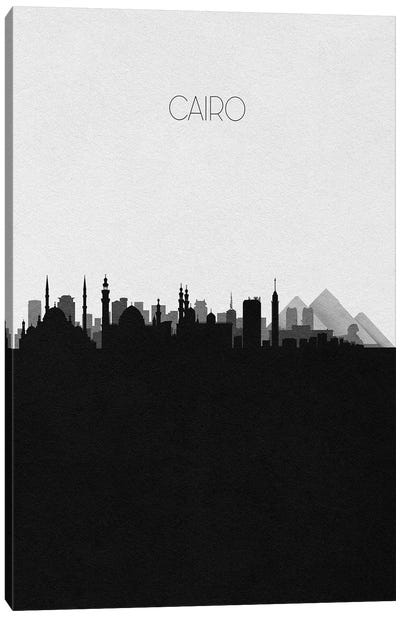 Cairo, Egypt City Skyline Canvas Art Print