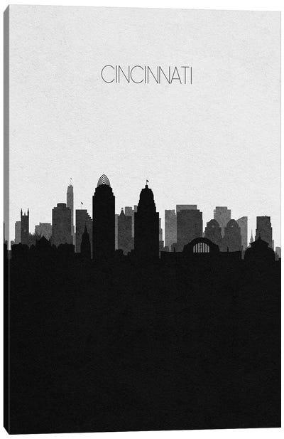 Cincinnati, Ohio City Skyline Canvas Art Print