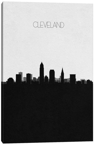 Cleveland, Ohio City Skyline Canvas Art Print