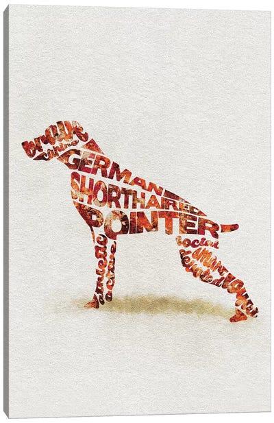 German Shorthaired Pointer Canvas Art Print