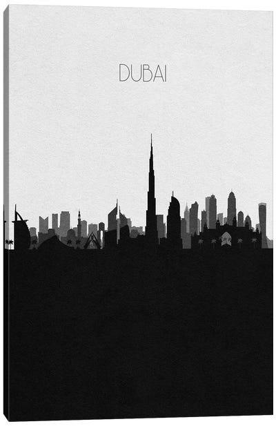 Dubai, UAE City Skyline Canvas Art Print
