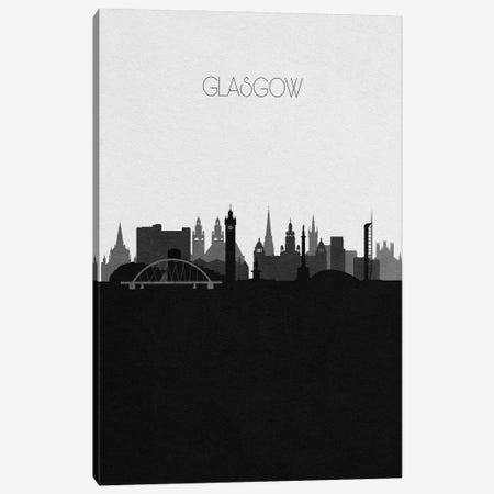 Glasgow, Scotland City Skyline Canvas Print #ADA325} by Ayse Deniz Akerman Canvas Art Print