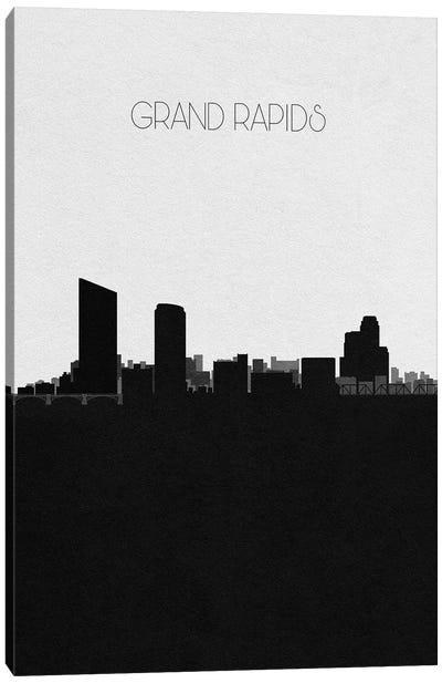 Grand Rapids, Michigan City Skyline Canvas Art Print