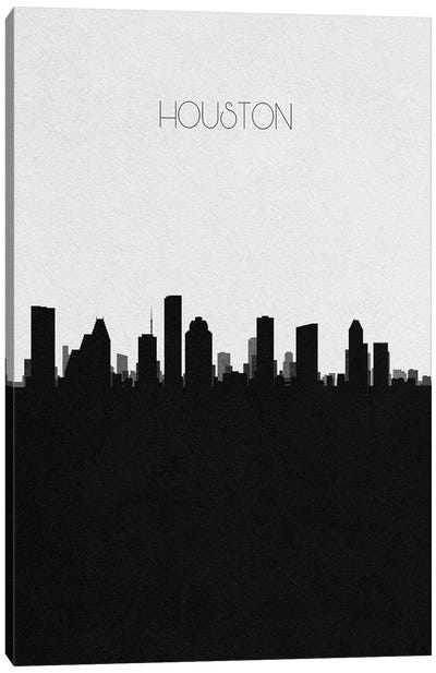 Houston, Texas City Skyline Canvas Art Print