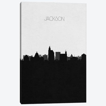 Jackson, Mississippi City Skyline Canvas Print #ADA336} by Ayse Deniz Akerman Canvas Art