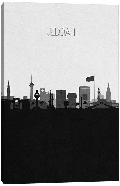Jeddah, Saudi Arabia City Skyline Canvas Art Print