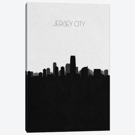 Jersey City, New Jersey Skyline Canvas Print #ADA340} by Ayse Deniz Akerman Canvas Wall Art