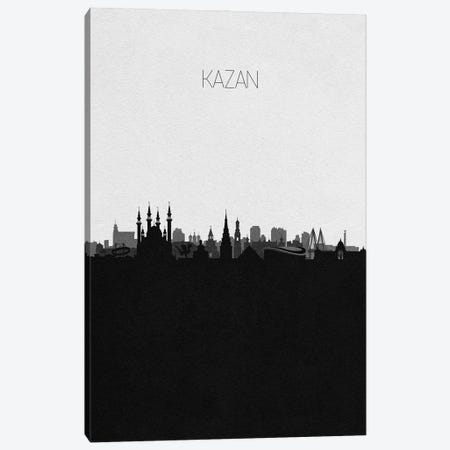 Kazan, Russia City Skyline Canvas Print #ADA343} by Ayse Deniz Akerman Canvas Wall Art
