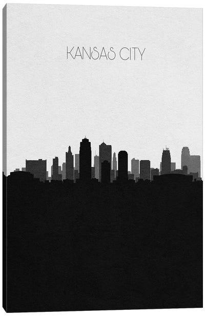 Kansas City, Missouri City Skyline Canvas Art Print