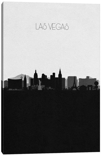 Las Vegas, Nevada City Skyline Canvas Art Print