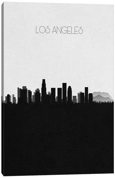 Los Angeles, California City Skyline Canvas Art Print
