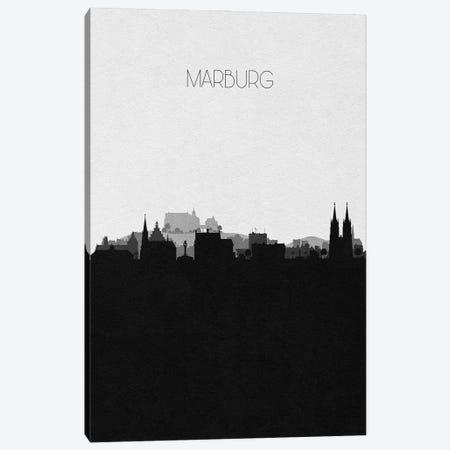 Marburg, Germany City Skyline Canvas Print #ADA364} by Ayse Deniz Akerman Canvas Print