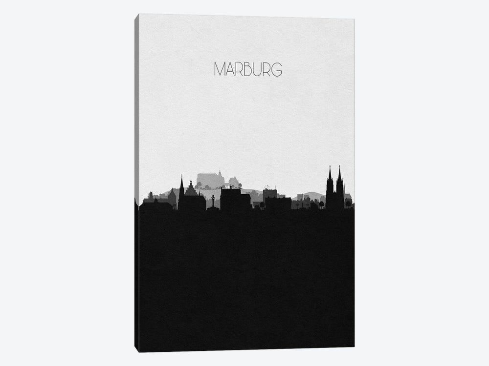 Marburg, Germany City Skyline by Ayse Deniz Akerman 1-piece Art Print