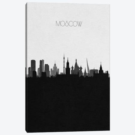 Moscow, Russia City Skyline Canvas Print #ADA372} by Ayse Deniz Akerman Art Print