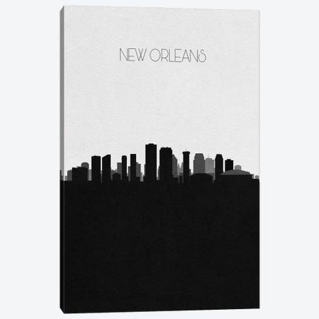 New Orleans, Louisiana City Skyline Canvas Print #ADA377} by Ayse Deniz Akerman Canvas Wall Art