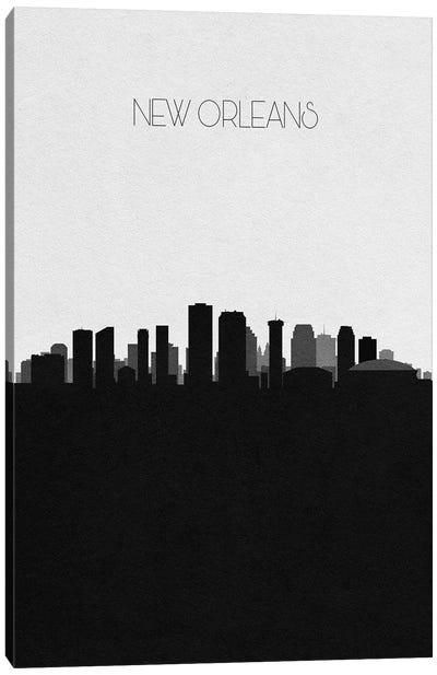 New Orleans, Louisiana City Skyline Canvas Art Print