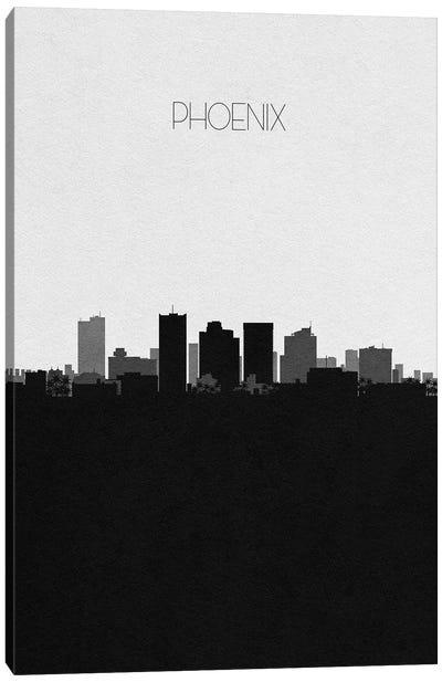 Phoenix, Arizona City Skyline Canvas Art Print
