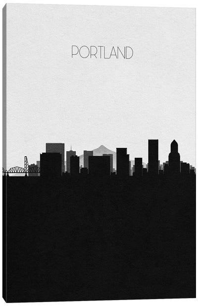 Portland, Oregon City Skyline Canvas Art Print
