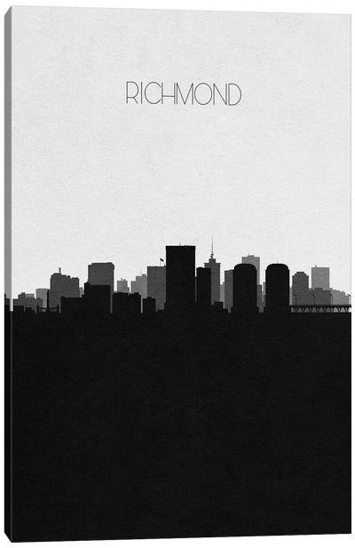 Richmond, Virginia City Skyline Canvas Art Print