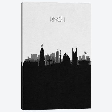 Riyadh, Saudi Arabia City Skyline Canvas Print #ADA399} by Ayse Deniz Akerman Canvas Art Print