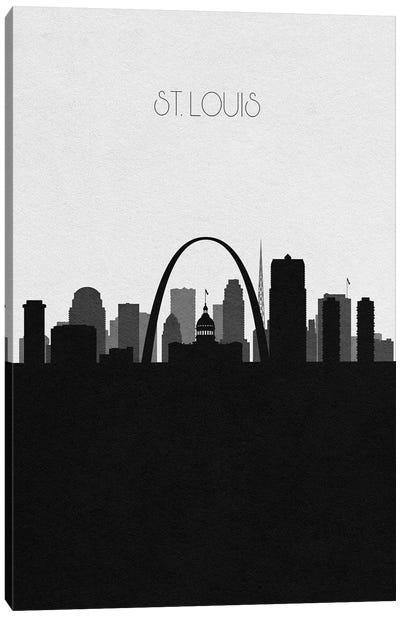 St. Louis, Missouri City Skyline Canvas Art Print