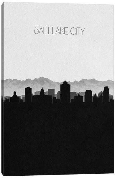 Salt Lake City, Utah Skyline Canvas Art Print