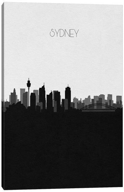 Sydney, Australia City Skyline Canvas Art Print