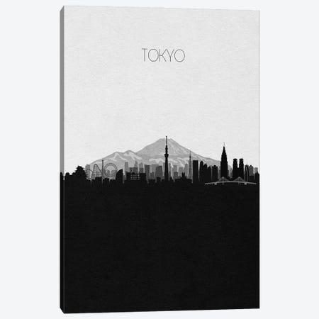 Tokyo, Japan City Skyline Canvas Print #ADA421} by Ayse Deniz Akerman Canvas Print