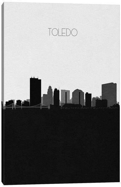 Toledo, Ohio City Skyline Canvas Art Print