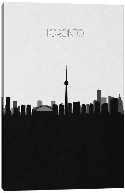 Toronto, Canada City Skyline Canvas Art Print