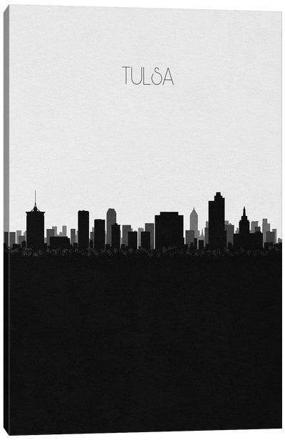 Tulsa, Oklahoma City Skyline Canvas Art Print