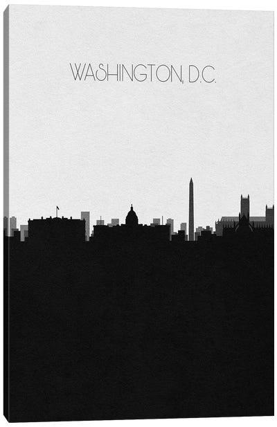 Washington Dc City Skyline Canvas Art Print