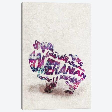 Pomeranian Canvas Print #ADA42} by Ayse Deniz Akerman Canvas Art Print