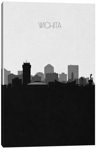 Wichita, Kansas City Skyline Canvas Art Print