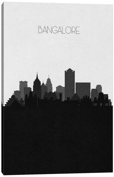 Bangalore, India City Skyline Canvas Art Print