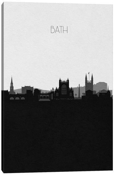 Bath, England City Skyline Canvas Art Print